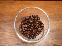 静物咖啡豆展示
