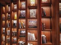 咖啡色书柜