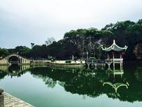 江心屿盆景园水景