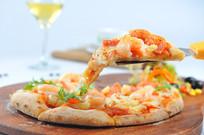 豪华虾仁披萨