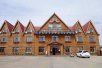 木刻楞宾馆建筑