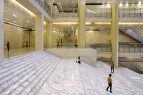 青海博物馆大厅