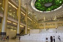 青海博物馆内景
