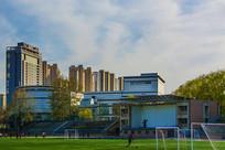 秦皇岛市燕大足球场与建筑群
