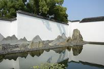苏博山水景观
