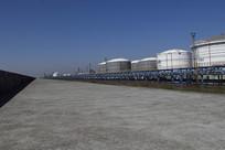 储油罐基地