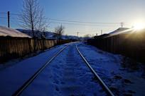 林场小镇的铁路