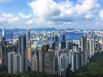 香港维多利亚全景