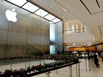 广州苹果专卖店后庭