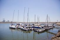 停船的码头