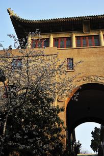 武汉大学樱花堡门洞