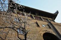武汉大学樱花堡门楼