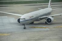 国航飞机特写