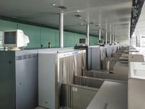 机场柜台空间