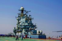 泰达航空母舰舰上舰岛