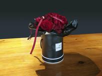 装饰玫瑰花