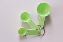 绿色的小量勺图片