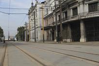 老上海铁轨街区