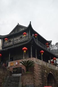 凤凰古城的红灯笼
