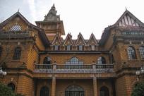 复古建筑拍摄