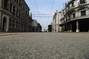 老上海街区拍摄