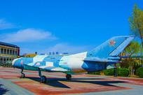 泰达航母公园广场展品战斗机
