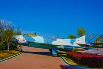 中国战斗机退役展览