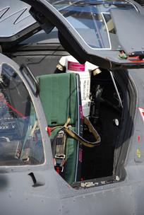 雌鹿武装直升机弹射座椅特写