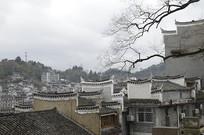 湖南凤凰古城全景