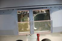 武装直升机光电吊舱特写