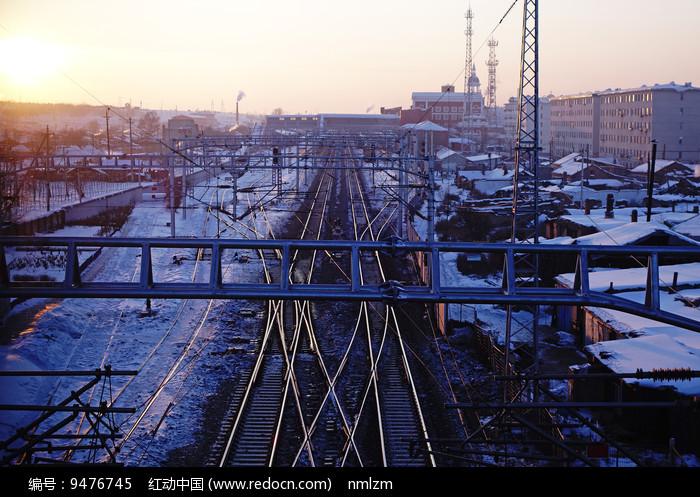 车站铁路 图片