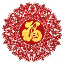 北京剪纸福寿安康