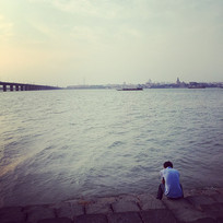 一个孤独的男人