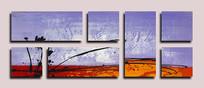 抽象艺术壁画背景墙
