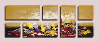现代艺术壁画