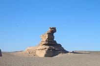 标志性沙漠岩石