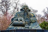 春秋时道家创始人老子雕像