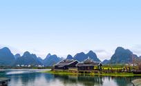 桂林乡村田园风光