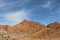 沙漠上方的天空