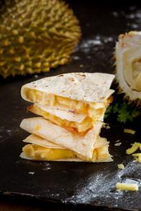 榴莲乳酪夹