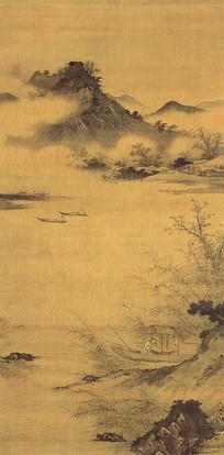 明 丁玉川 渔乐图