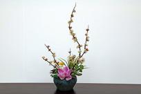 室内摆放的插花