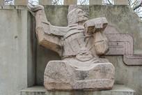 战国故事赵国故事纸上谈兵雕像