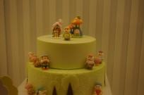 子孙满堂长寿蛋糕