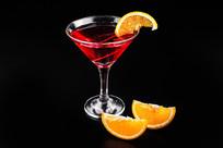 橙子鸡尾酒图片
