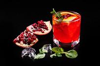 石榴冰酒图片