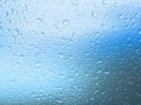 蓝色水滴纹