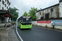 新能源公交车在徽州区开通