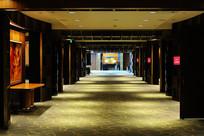 宾馆前厅走廊