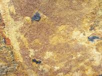 金色岩石纹
